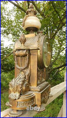 Pendule En Bronze Napoleon III Pendule Ancienne