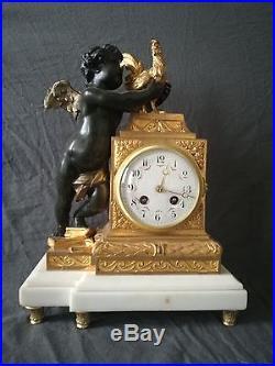 Pendule En Bronze d'époque XIXe