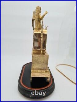 Pendule Eros En Bronze, Empire Vers 1820