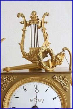 Pendule Hermès époque XIXème