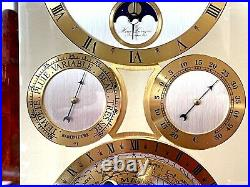 Pendule Horloge À Poser Astrolabe Baromètre Thermomètre Hour Lavigne Sous Cage