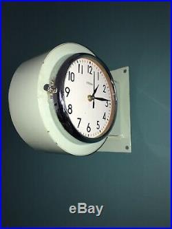 Pendule Horloge Citizen Marine Seiko Clock Japan Vintage Industriel Design Lamp