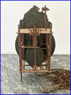 Pendule Horloge Lanterne de type Pont Farcy époque XVIIIe