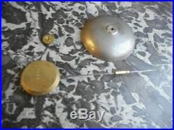 Pendule Horloge Marbre Et Bronze A Coupelle