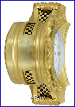 Pendule Louis XV. Kaminuhr Empire clock bronze horloge antique cartel Napoleon