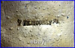 Pendule Napoléon III en porcelaine et métal doré XIXème