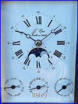 Pendule Officier Voyage Pendulette LEpee Phases De Lune