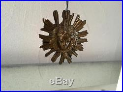 Pendule Portique En Marbre/ Bronze / Style Louis XVI / Parfait État De Marche