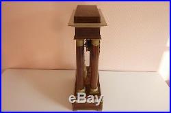 Pendule Portique à colonnes Charles X bronze, 19ème Réf 234