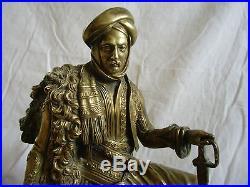 Pendule bronze Orientaliste