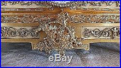 Pendule bronze doré l'été l'automne putti chérubin époque 19ème