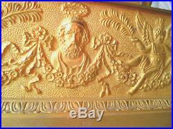Pendule bronze restauration allegorie de la lecture et du savoir 19emme