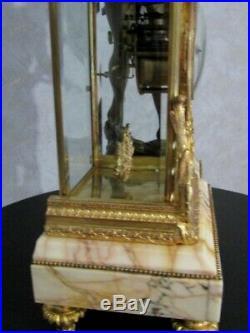 Pendule cage Napoléon III Pendule en bronze, Empire, clock