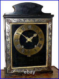 Pendule cartel RELIGIEUSE, Louis XIV, boulle, vers 1680/1700