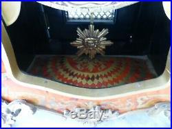Pendule cartel style BOULE mantel clock 60 cm