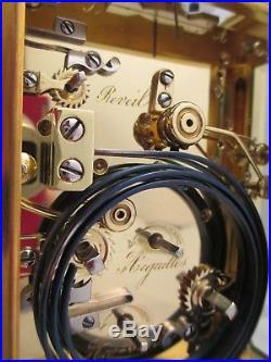 Pendule d'officier L. FERNIER grande sonnerie, carriage clock XIXéme (1841)