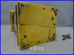 Pendule d'officier L. GALLOPIN avec boite à musique, carriage clock musical box