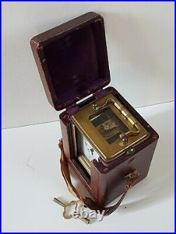 Pendule d'officier TUFFIER à NANCY Vers 1880