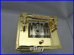 Pendule d'officier de voyage carriage clock L. LEROY et Cie