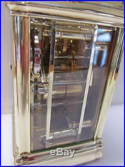 Pendule d'officier de voyage gorge carriage clock gorge