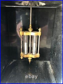 Pendule de Notaire en Marbre, Mouvement Brocot, Balencier Mercure