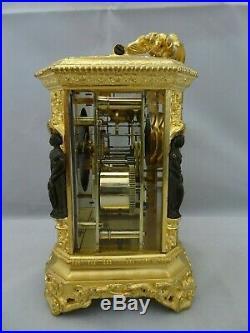 Pendule de voyage, d'officier JAPY avec seconde (médaille exposition 1835)