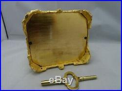Pendule de voyage, d'officier cariatides (JAPY 1835) sonnerie
