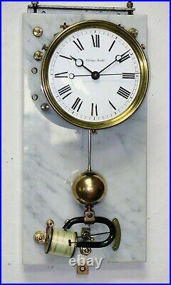 Pendule / horloge BRILLIE années 30 electric master clock (no ato, lepaute)