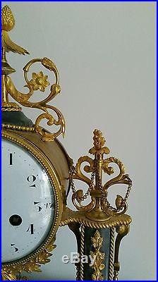 Pendule portique XVIII époque louis XVI vers 1780