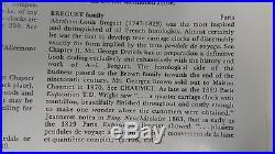 Pendulette d'officier de voyage répétition des Quarts/silence BREGUET N°1835