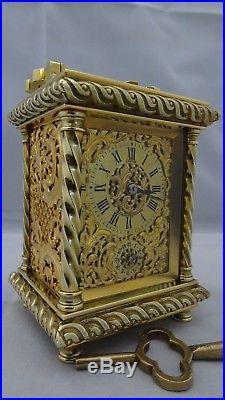 Pendulette d'officier de voyage répétition des heures CHAUDE(fin XIXème siècle)