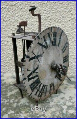 Petit Mouvement d'Horloge type Pont Farcy Epoque Fin XVIIIe Siècle