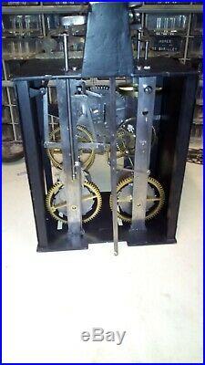 Petit mécanisme d'horloge comtoise, Uhr, orologio, reloj
