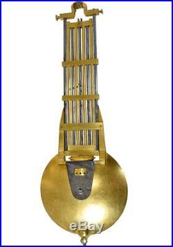 Portique pendule. Kaminuhr Empire clock bronze horloge antique cartel uhren