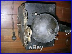 RAR petite comtoise 1 aiguille de 22 cm en l'état, fonctionnel dans son jus
