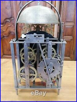 RARE Horloge Comtoise Lanterne, Échappement CHEVALIER DE BETHUNE, UHR, clock