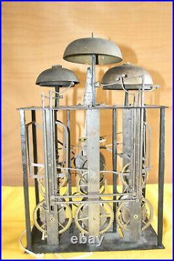 Rare Comtoise 6 Cloches A Finir De Restaurer