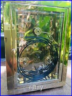 Rare Et Exceptionnelle Pendulette Phase De Lune LEpee Squelette Officier Voyage