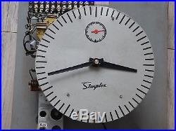 Rare Horloge Pendule Mere Simplex Horloge Industrielle Gare Usine