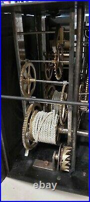 Rare Miniature Horloge Pendule comtoise Foret Noire Carillon