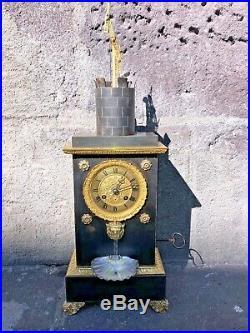 Rare Pendule De Chappe
