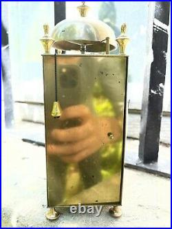 Rare Petite Pendule Horloge Capucine 1810 Echappement A Verge officier voyage