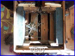 Rare coucou Forêt Noire Johann Baptist BEHA black forest cuckoo clock