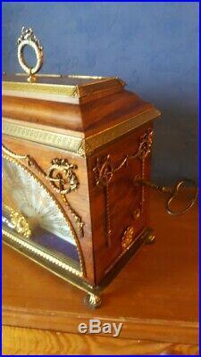 Rare-horloge-pendule-cartel collection-mystérieuse-Fabergé (500 ex fabriquées)