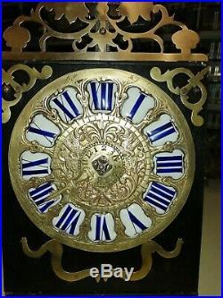 Rare petit Horloge comtoise 1 aiguille 16,8centimètres, UHR, reloj, orologio