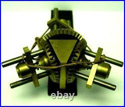 Renvois d'angle horloge regulateur uhr dédifice comtoise Tower clock turmuhr 3