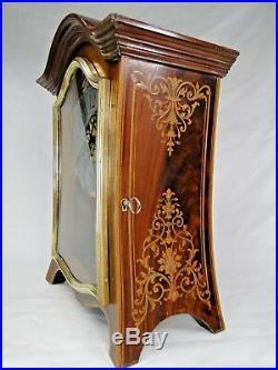 SUPERBE CARTEL PENDULE ST. XVIIè MARQUETERIE SIGNEE PLANCHON A PARIS 1869 CLOCK
