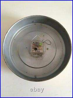 SUPERBE HORLOGE métal FLASH DESIGN AN 50 60 70 vintage industriel