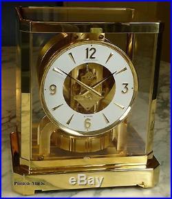 SUPERBE PENDULE ATMOS VIII de 1978 Jaeger LeCoultre (clock uhr)