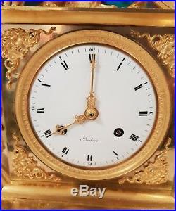 Splendide pendule allégorique, Début XIXème